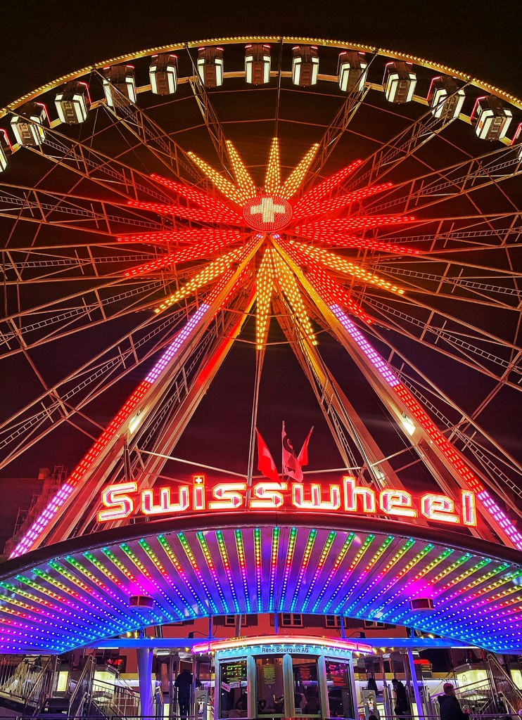 The Swiss wheel.  by cocobella
