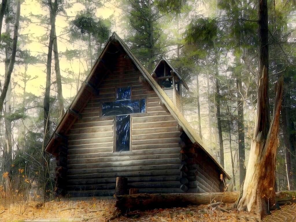 chapel in the woods by amyk