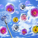 Flower Bubbles by onewing