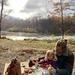 A November picnic