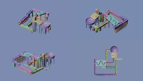 15th Nov 2020 - Marble Run Quad View