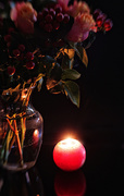 15th Nov 2020 - Roses and candle