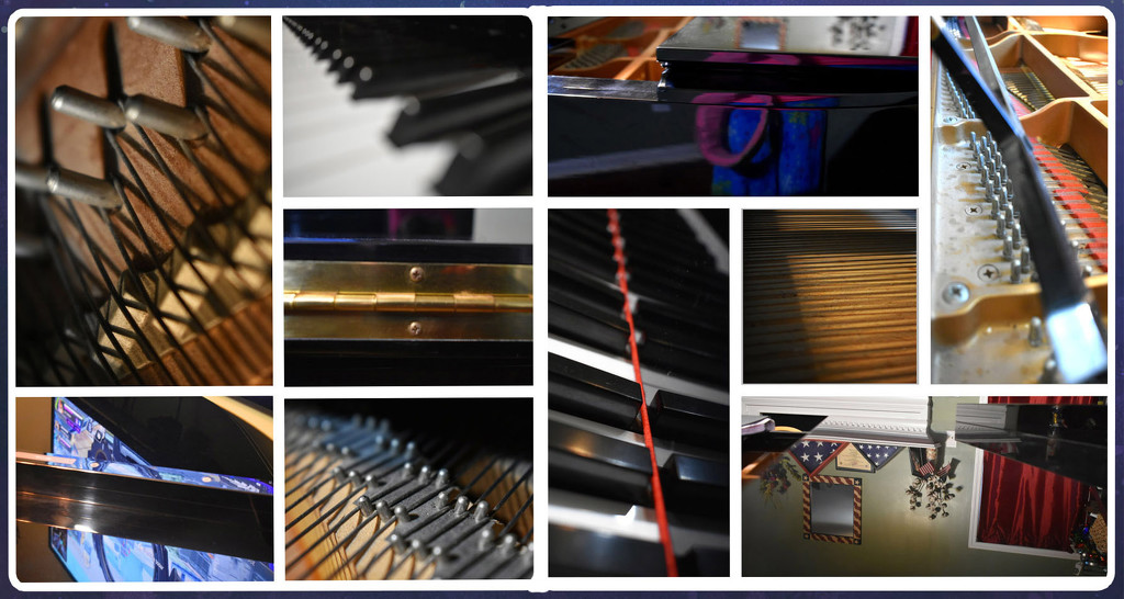Abstract Piano Collage by homeschoolmom