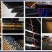 Abstract Piano Collage