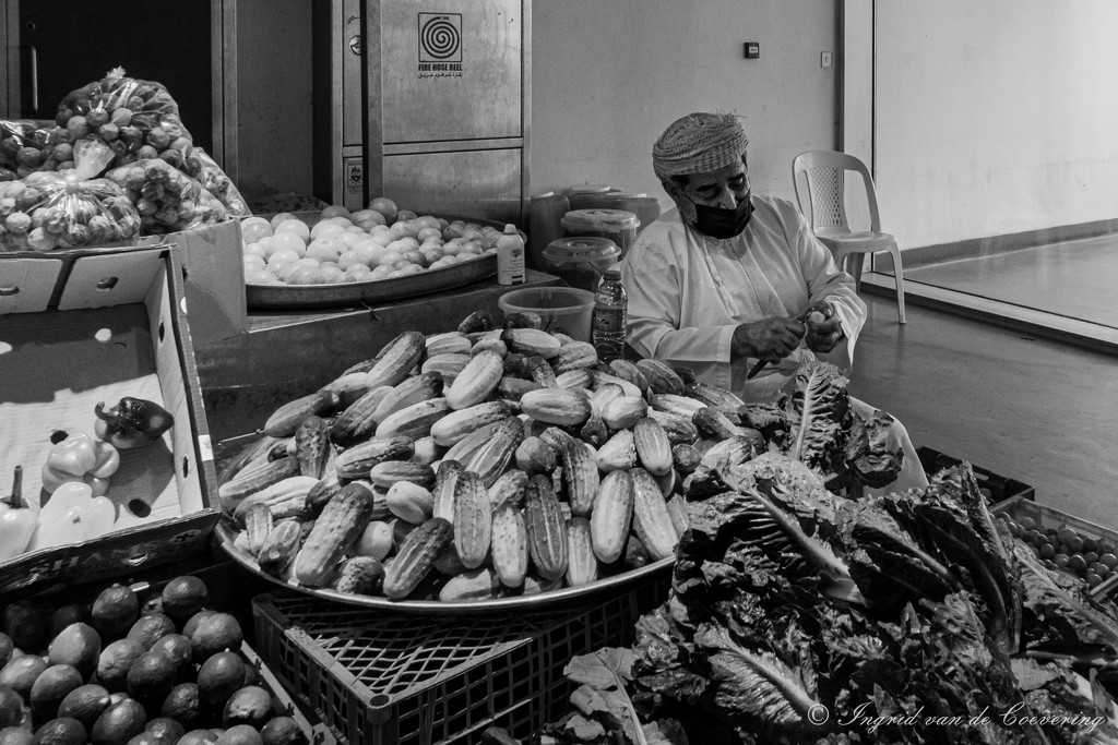 At the vegetable market by ingrid01