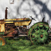 Tractor by mittens