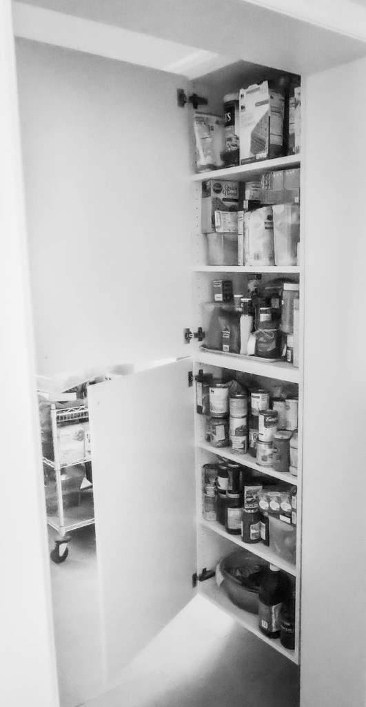 Filled pantry by randystreat