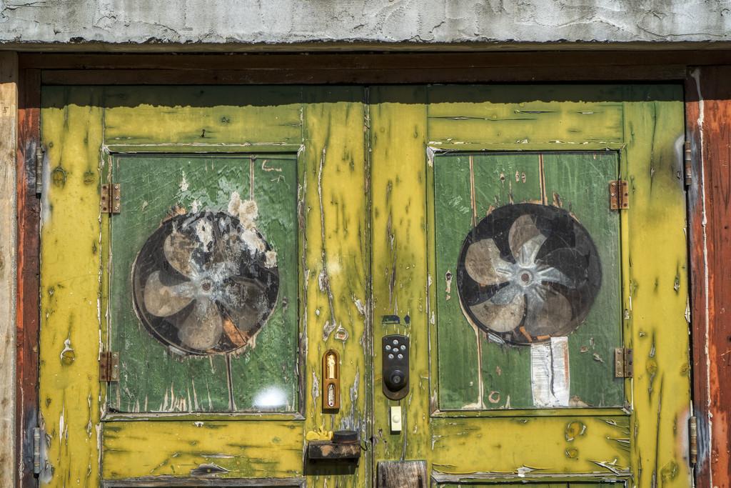 Grungy Doors by kvphoto