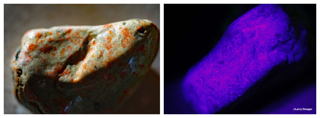 Pebble with a glow 2 views by larrysphotos