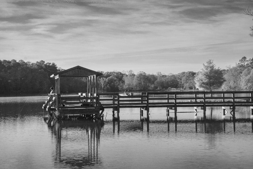 Dock on the lake... by thewatersphotos