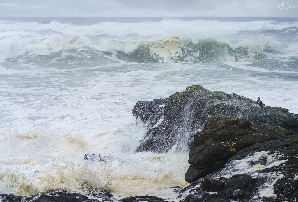 Roiling Sea by jgpittenger