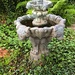 Antique unused fountain, historic district, Charleston