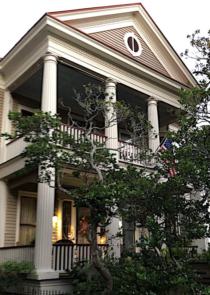 Antebellum house, historic district, Charleston  by congaree