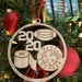 "A ""2020"" Christmas ornament"