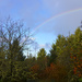 Rainbow in the Fall