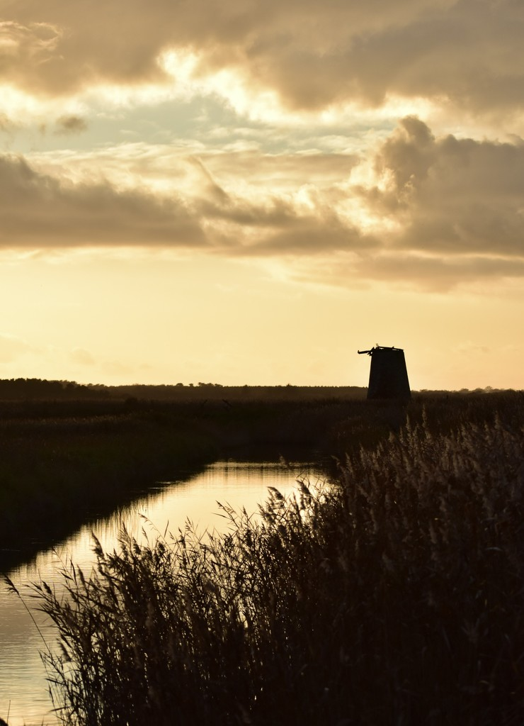 Mill on the Marsh by helly31