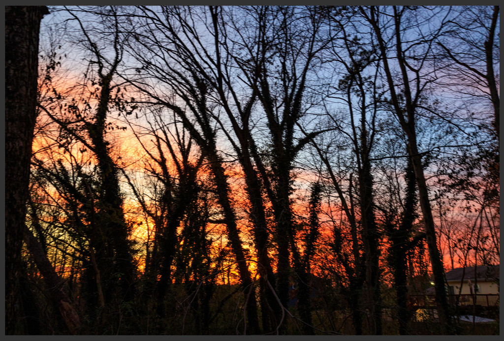 Sunset by hjbenson