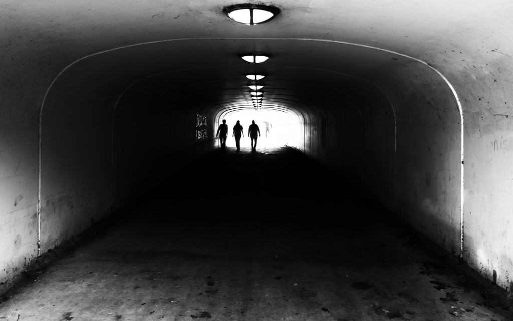 Light at the End of the Tunnel by taffy
