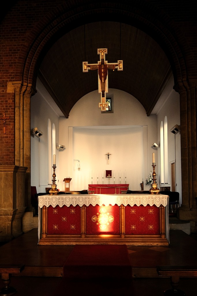 Altar & Cross by allsop