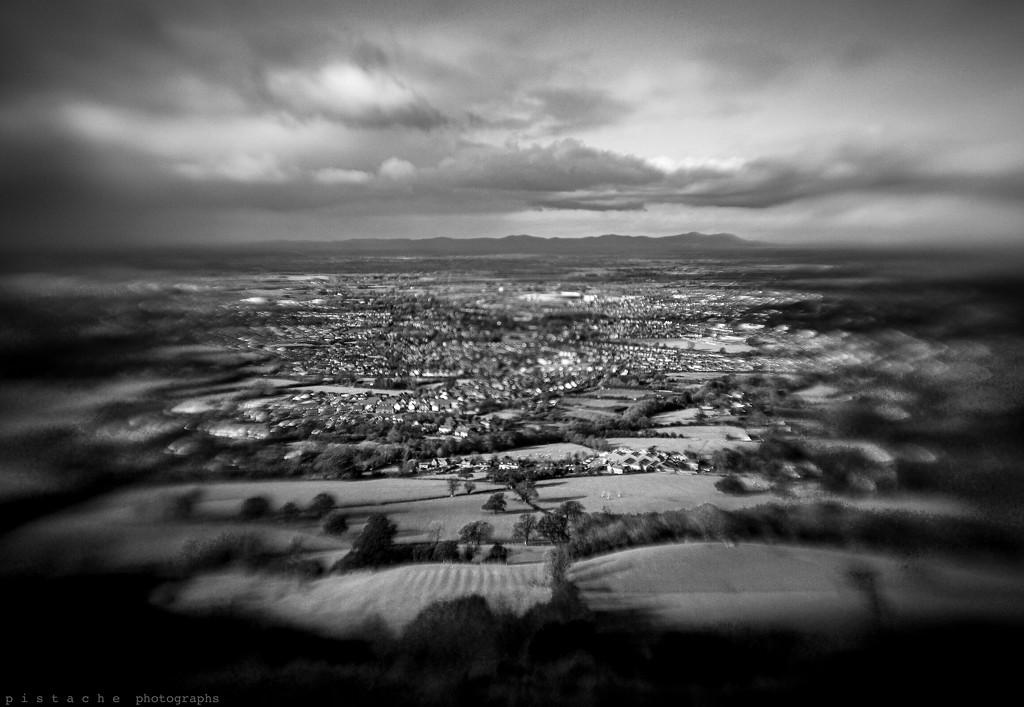 dotty landscape by pistache