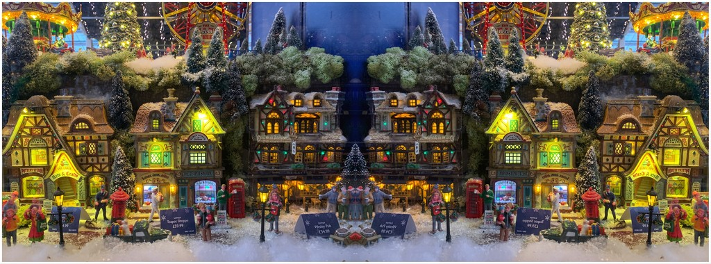 The Christmas High Street by happypat