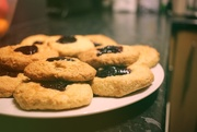 20th Nov 2020 - Simple Jammy Biscuits