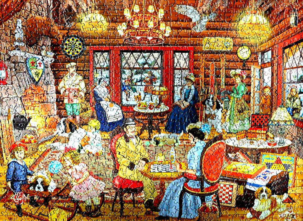 Another 1000 piece puzzle finished. by sailingmusic