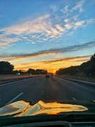21st Nov 2020 - Sunset on my car.