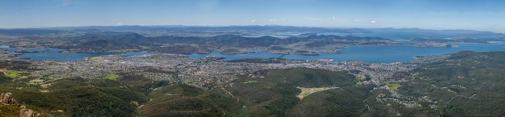 Hobart-Panoramic view by gosia