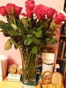 22nd Nov 2020 - Anniversary red long stem roses.