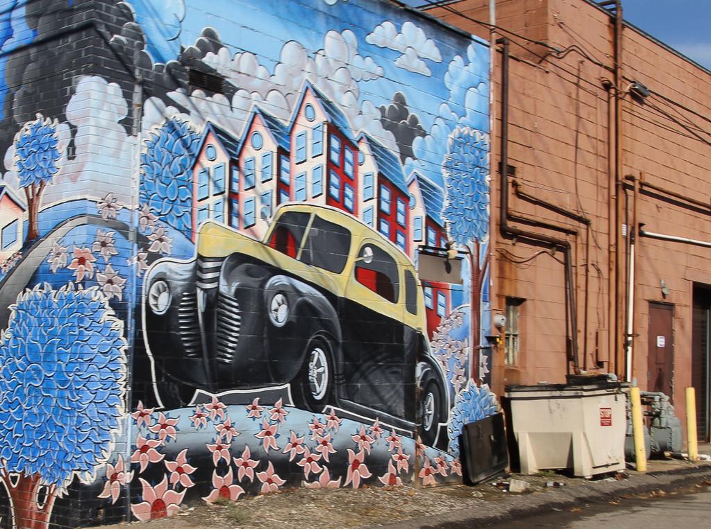 Street art by mittens