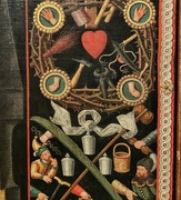 23rd Nov 2020 - Heart on an old painting.