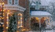 22nd Nov 2020 - Snowing in Merrickville