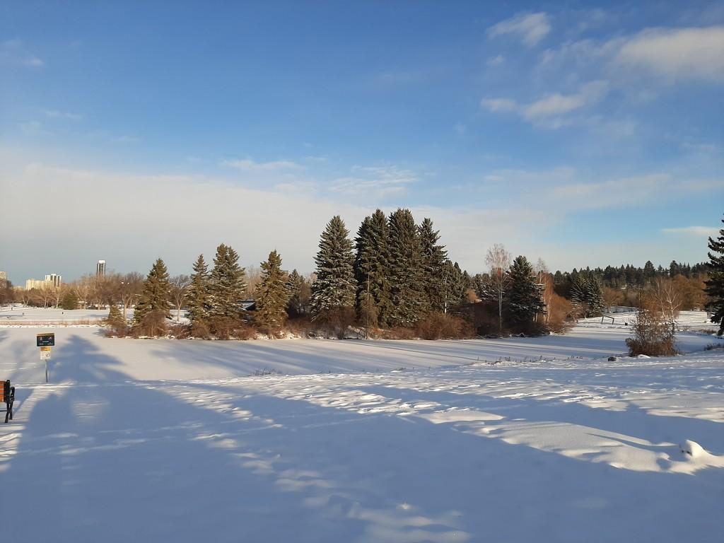 Winter Landscape  by bkbinthecity