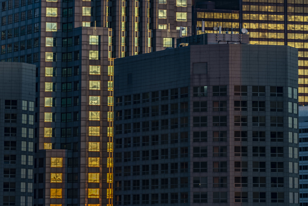 Windows at Sunset by taffy