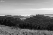 24th Nov 2020 - Hills and Clouds From Mary's Peak B and W