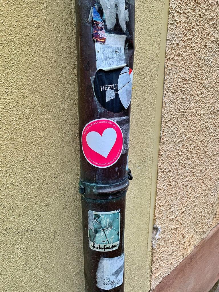 Heart sticker.  by cocobella