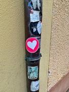 24th Nov 2020 - Heart sticker.
