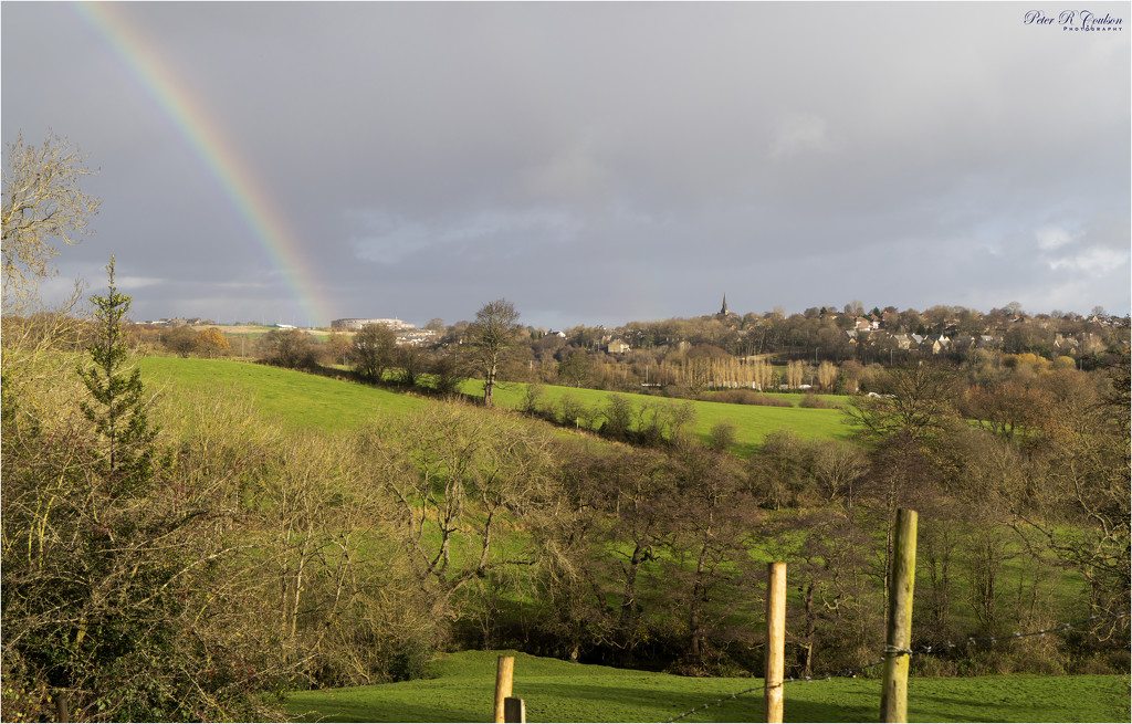 Rainbow over Appleton Academy by pcoulson