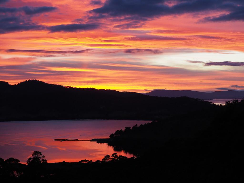 Good morning from Port Huon Tasmania by katford