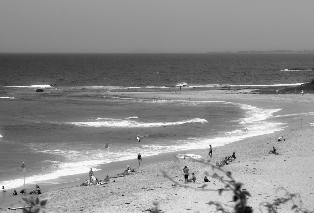 Black and White - Reportage Beach by annied