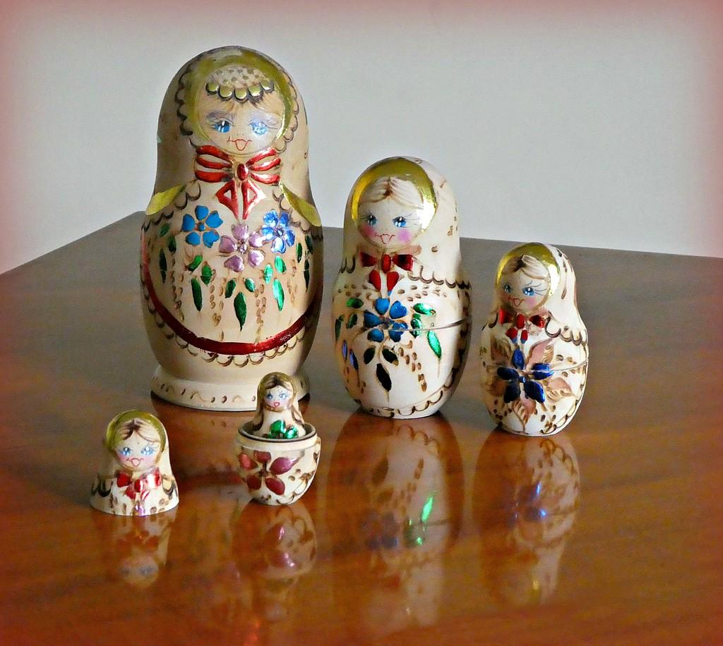 Russian Dolls  by wendyfrost
