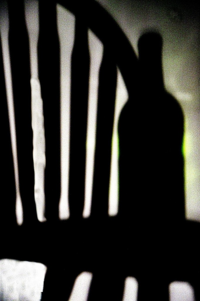 Shadow Play - chair and bottle by granagringa