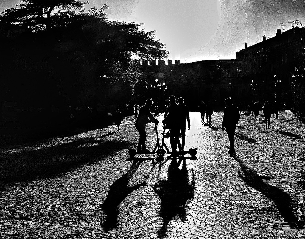 Long shadows by caterina