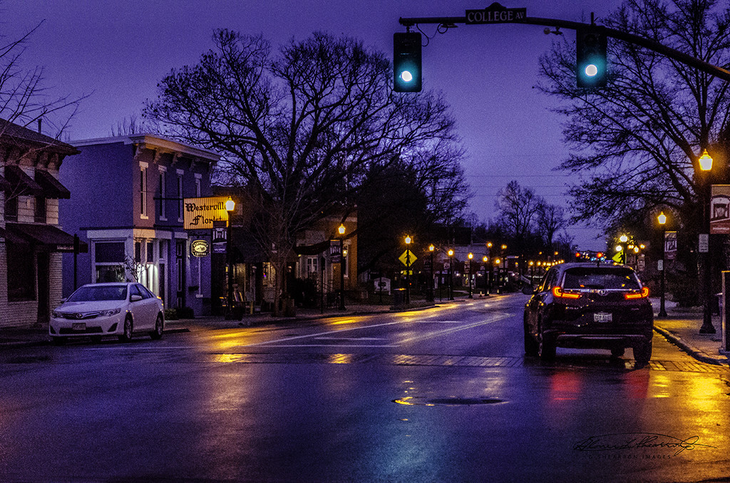 Driving Into the Morning on State St. by ggshearron