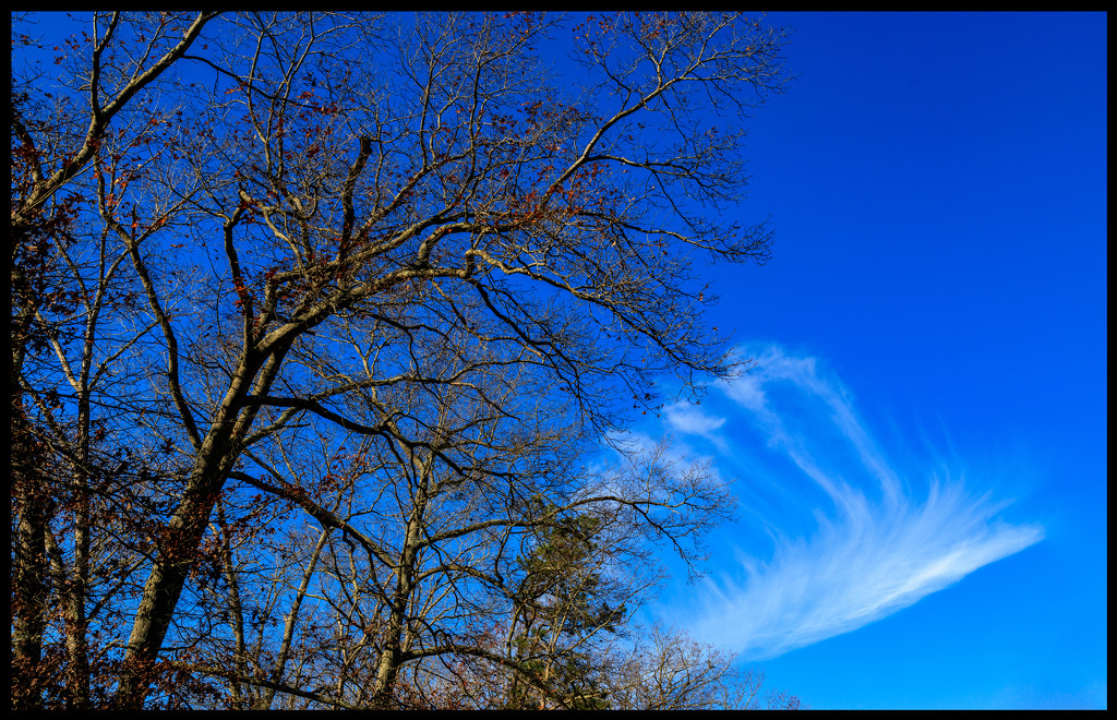 Wispy Cloud by hjbenson