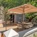 Newly renovated Winetasting terrace.