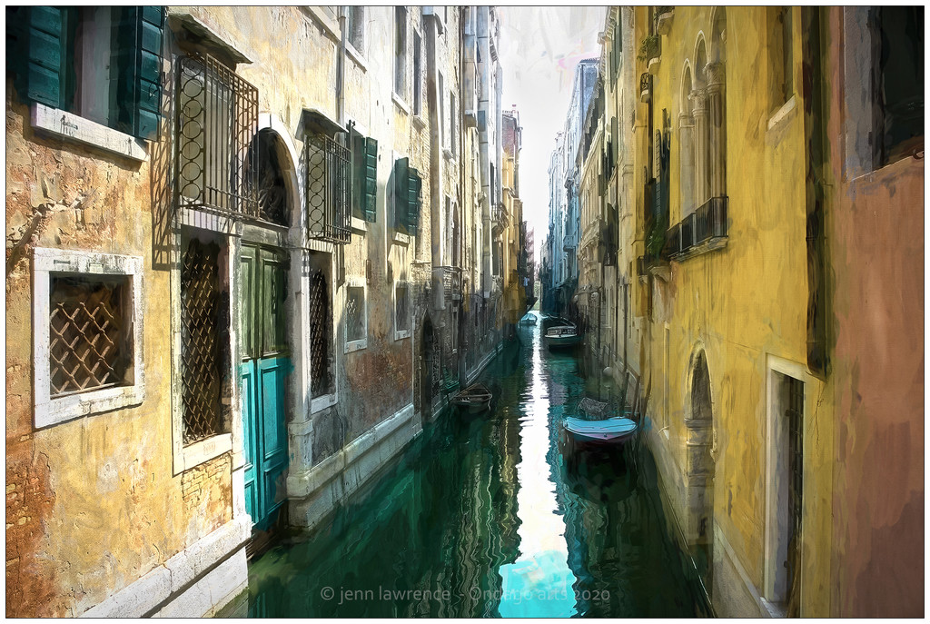 Painted Canal by aikiuser