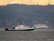 25th Nov 2020 - Sunset Tug Boat