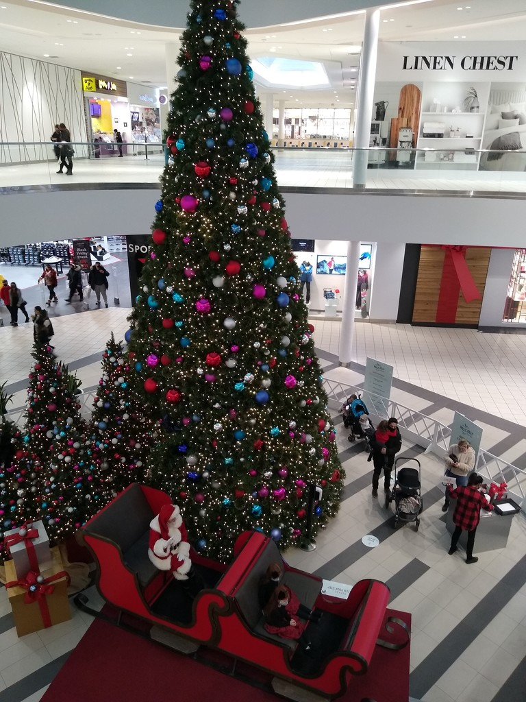 Santa has arrived at the mall by bruni